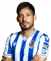 Picture of the 1.70 m (5 ft 7 in) tall Spanish attacking midfielder of Real Sociedad