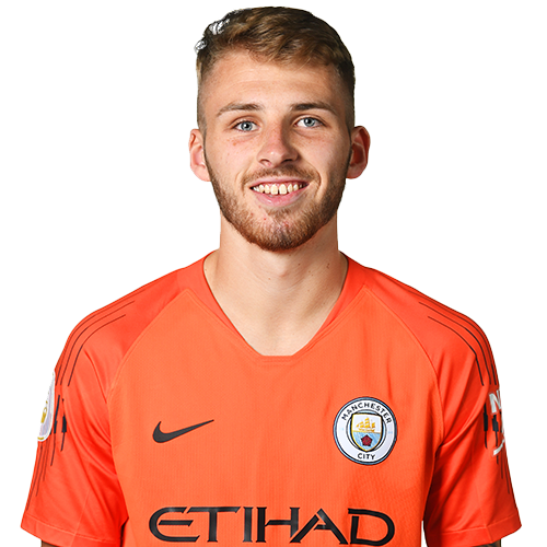 Picture of the 1.85m (6 ft 1 in) tall English goalkeeper of Manchester City