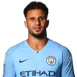 Picture of the 1.78 m (5 ft 10 in) tall English Right back of Manchester City