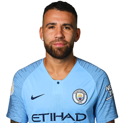 Picture of the 1.81 m (5 ft 11 in) tall Argentine centre back of Manchester City