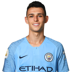 Picture of the 1.71 m (5 ft 7 in) tall English midfielder of Manchester City