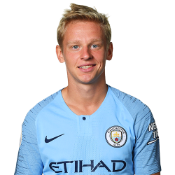 Picture of the 1.75 m (5 ft 9 in) tall Ukranian attacking midfielder of Manchester City