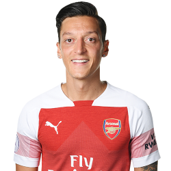 Picture of the 1.80 m (5 ft 11 in) tall German attacking midfielder of Arsenal
