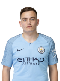 Picture of the 1,74 m (5 ft 8 in) tall English right winger of Manchester City