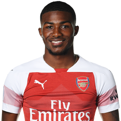 Picture of the 1.77 m (5 ft 10 in) tall English central midfielder of Arsenal