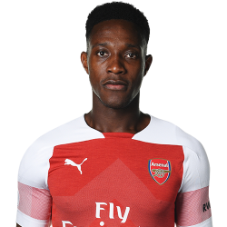 Picture of the 1.85 m (6 ft 1 in) tall English forward of Arsenal
