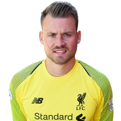 Picture of the 1.93 m (6 ft 4 in) tall Belgian goalkeeper of Liverpool