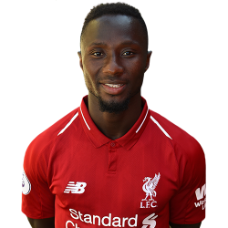 Picture of the 1.72 m (5 ft 8 in) tall Guinean central midfielder of Liverpool