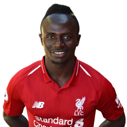 Picture of the 1.75 m (5 ft 9 in) tall Senegalese winger of Liverpool