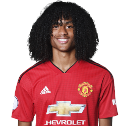 Picture of the 185 cm (6 ft 1 in) tall Dutch right winger of Manchester United