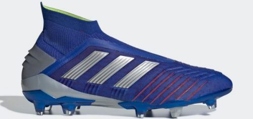 During the BPL Season 2018/2019 the Right footed player of Chelsea, born in Manchester, England, plays on adidas Predator 19.1.