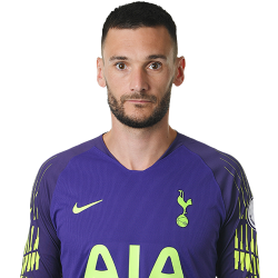 Picture of the 1.88 m (6 ft 2 in) tall French goalkeeper of Tottenham Hotspur