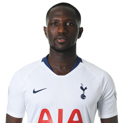 Picture of the 1.87 m (6 ft 2 in) tall French midfielder of Tottenham Hotspur
