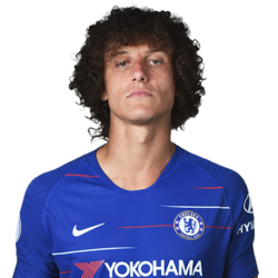 Picture of the 1.89 m (6 ft 2 in) tall Brazilian centre back of Chelsea