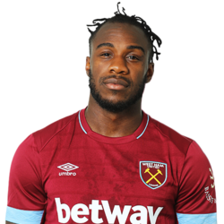 Picture of the 1.80 m (5ft 11 in) tall English right winger of West Ham United