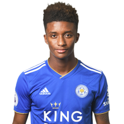 Picture of the 1.80 m (5ft 11 in) tall English left winger of Leicester City