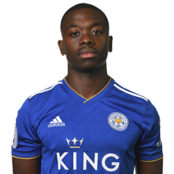 Picture of the 1.67 m (5 ft 6 in) tall French defensive midfielder of Leicester City