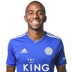 Picture of the 1.75 m (5 ft 9 in) tall Portuguese right back of Leicester City