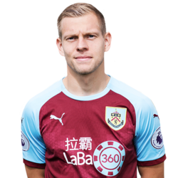 Picture of the 1.80 m (5ft 11 in) tall Czech attacking midfielder of Burnley