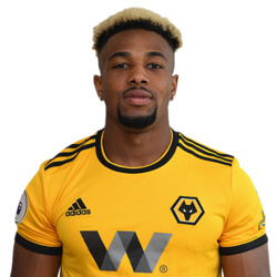 Picture of the 1.78 m (5 ft 10 in) tall Spanish winger of Wolverhampton Wanderers