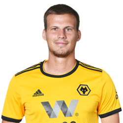 Picture of the 1.88 m (6 ft 2 in) tall English centre back of Wolverhampton Wanderers