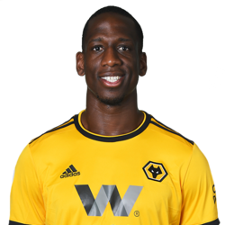 Picture of the 1.95 m (6 ft 5 in) tall French centre back of Wolverhampton Wanderers