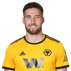Picture of the 1.83 m (6 ft 0 in) tall Irish right back of Wolverhampton Wanderers