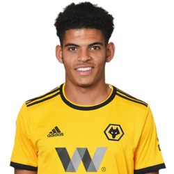 Picture of the 1.78 m (5 ft 10 in) tall English centre midfielder of Wolverhampton Wanderers