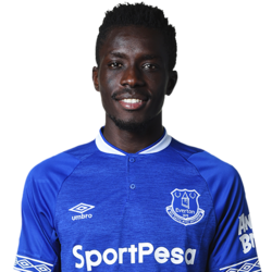 Picture of the 1.74 m (5 ft 9 in) tall Senegalese defensive midfielder of Everton