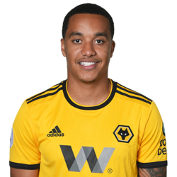 Picture of the 1.77 m (5 ft 10 in) tall Portuguese winger of Wolverhampton Wanderers
