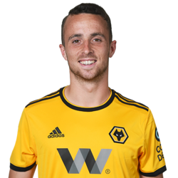 Picture of the 1.77 m (5 ft 10 in) tall Portuguese striker of Wolverhampton Wanderers