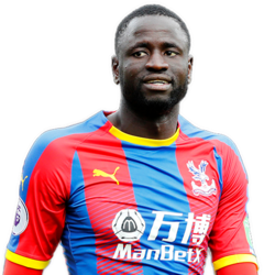 Picture of the 1.89 m (6 ft 2 in) tall Senegalese centre midfielder of Crystal Palace