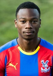Picture of the 1.76 m (5 ft 9 in) tall English central midfielder of Crystal Palace