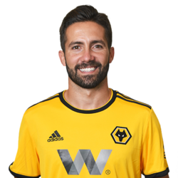 Picture of the 1.70 m (5 ft 7 in) tall Portuguese attacking midfielder of Wolverhampton Wanderers