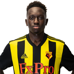 Picture of the 1.77 m (5 ft 10 in) tall Portuguese/Guinean central midfielder of Watford