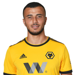 Picture of the 1.90 m (6 ft 3 in) tall Moroccan centre midfielder of Wolverhampton Wanderers