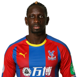 Picture of the 1.87 m (6 ft 2 in) tall French/Senegalese centre-back of Crystal Palace