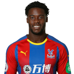 Picture of the 1.78 m (5 ft 10 in) tall Ghanian/German left back/left winger of Crystal Palace