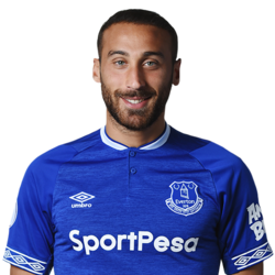 Picture of the 1.83 m (6ft 0 in) tall Turkish/German centre forward of Everton