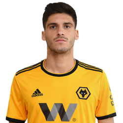 Picture of the 1.74 m (5 ft 9 in) tall Portuguese left wing-back of Wolverhampton Wanderers