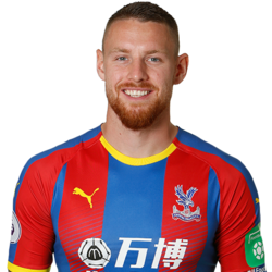 Picture of the 1.91 m (6 ft 3 in) tall English striker of Crystal Palace