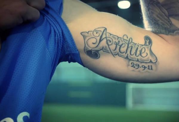 wilshere tattoo