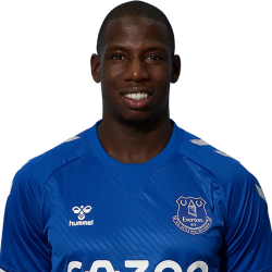 Picture of the 1.82 m (6 ft 0 in) tall French/Malian centre midfielder of Everton