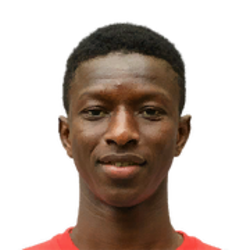 Picture of the 1.76 m (5 ft 9 in) tall Malian central midfielder of RB Leipzig