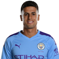 Picture of the 1.80 m (5 ft 11 in) tall Portuguese right back of Manchester City