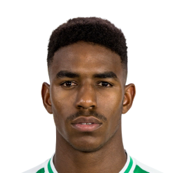 Picture of the 1.84 m (6 ft 0 in) tall Spanish/Dominican left back of Barcelona