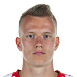 Picture of the 1.89 m (6 ft 2 in) tall German Right Back of Red Bull Leipzig