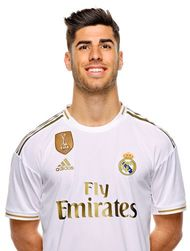 Picture of the 1.82 m (6 ft 0 in) tall Spanish attacking midfielder of Real Madrid