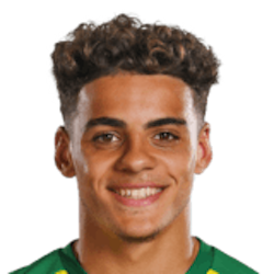 Picture of the 1.78 m (5 ft 10 in) tall English right back of Norwich City