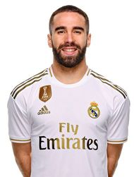 Picture of the 1.73 m (5 ft 8 in) tall Spanish right back of Real Madrid